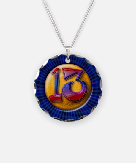 Lucky Number 13 Necklace