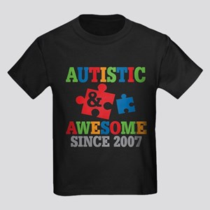 Autistic Awesome Since 2007 T-Shirt