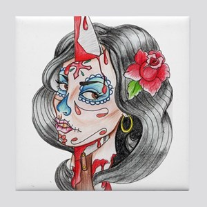 Sugar girl Tile Coaster