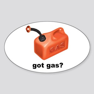Got Gas? Oval Sticker