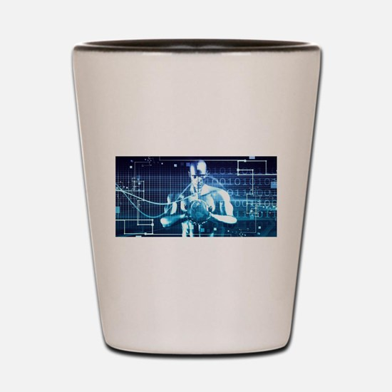 Integrated Technol Shot Glass