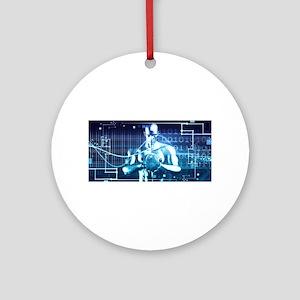 Integrated Technol Round Ornament