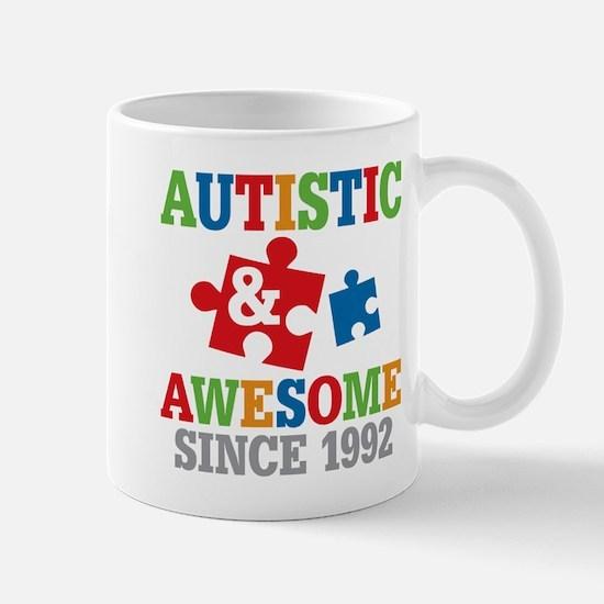 Autistic Awesome Since 1992 Mugs