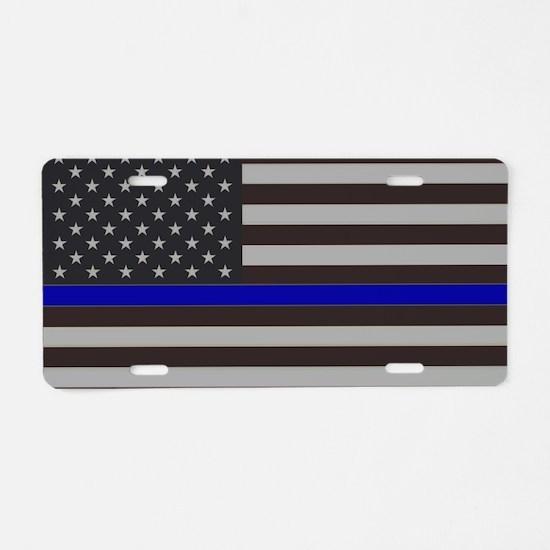 Unique Law enforcement Aluminum License Plate