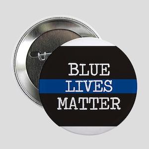 """Blue Lives Matter 2.25"""" Button"""