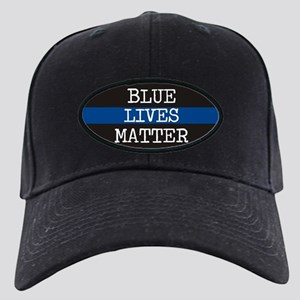 Blue Lives Matter Black Cap