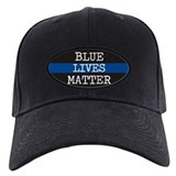 Blue lives matter Baseball Cap with Patch