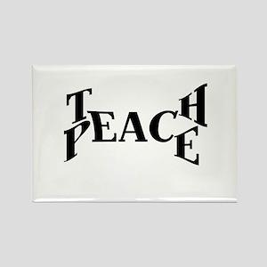 Teach Peace Magnets