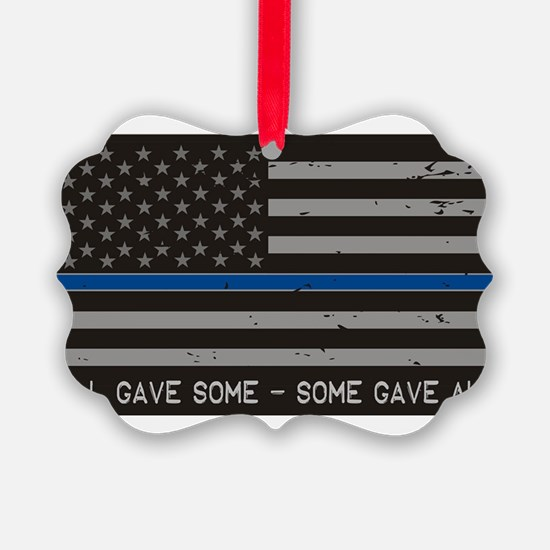 Blue Lives Matter Ornament