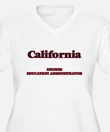 California Higher Education Admi Plus Size T-Shirt