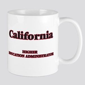 California Higher Education Administrator Mugs