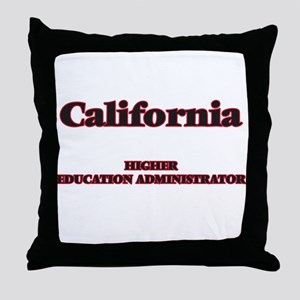 California Higher Education Administr Throw Pillow