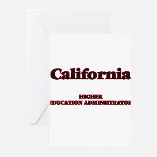 California Higher Education Adminis Greeting Cards