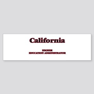 California Higher Education Adminis Bumper Sticker