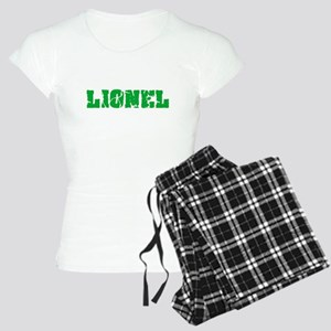 Lionel Name Weathered Green Design Pajamas