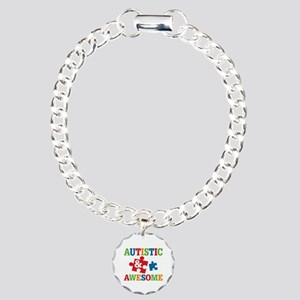 Autistic Awesome Charm Bracelet, One Charm