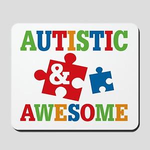 Autistic Awesome Mousepad