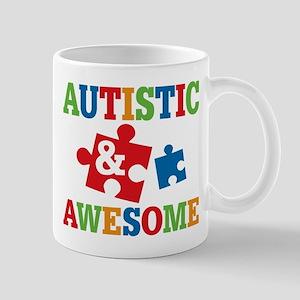 Autistic Awesome Mugs