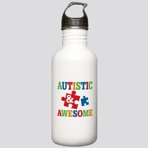 Autistic Awesome Stainless Water Bottle 1.0L