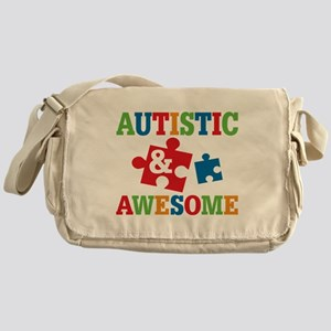 Autistic Awesome Messenger Bag
