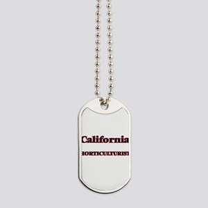 California Horticulturist Dog Tags