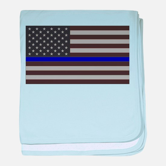 Blue Lives Matter baby blanket