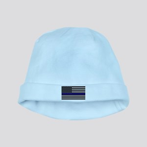 Blue Lives Matter baby hat