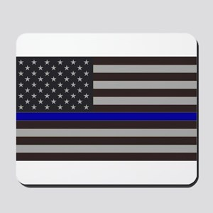 Blue Lives Matter Mousepad