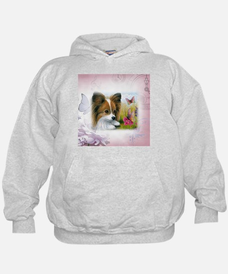 Dog 123 Papillon Hoodie