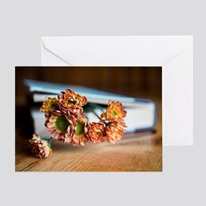 Fragrant Bookmark Greeting Card