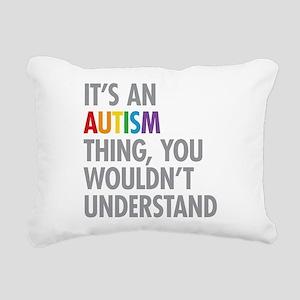 Autism Thing Rectangular Canvas Pillow
