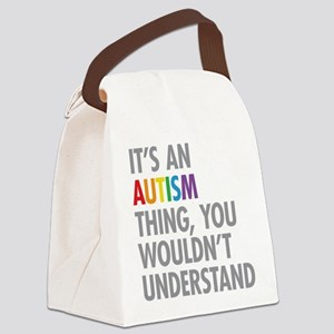 Autism Thing Canvas Lunch Bag