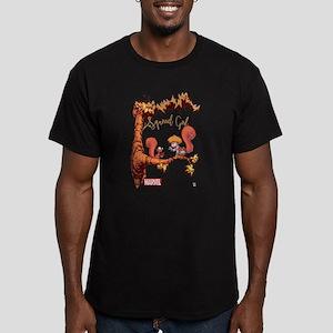 Squirrel Girl Branch Men's Fitted T-Shirt (dark)