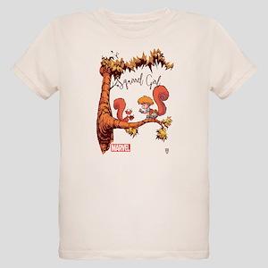Squirrel Girl Branch Organic Kids T-Shirt