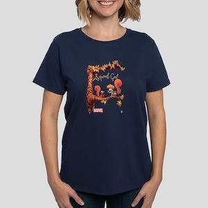Squirrel Girl Branch Women's Dark T-Shirt