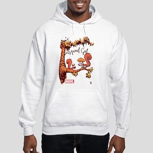 Squirrel Girl Branch Hooded Sweatshirt