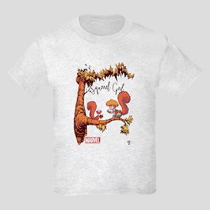 Squirrel Girl Branch Kids Light T-Shirt