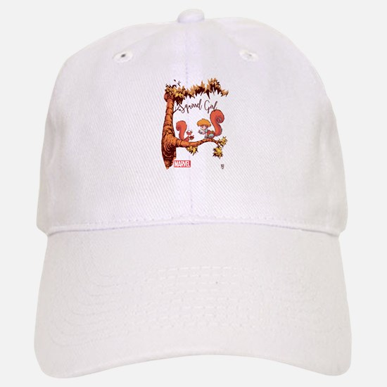 Squirrel Girl Branch Baseball Baseball Cap