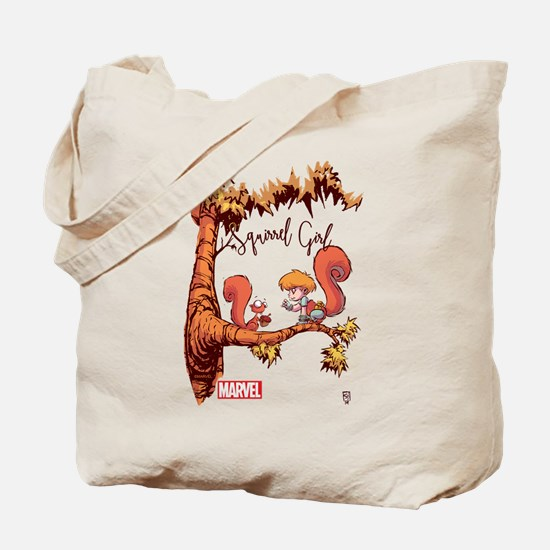 Squirrel Girl Branch Tote Bag