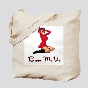 Sci Fi Pin Up Tote Bag