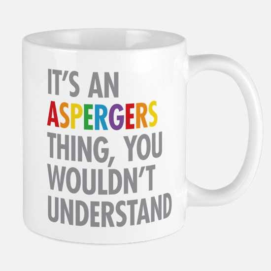 Aspergers Thing Mugs