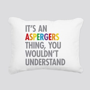 Aspergers Thing Rectangular Canvas Pillow