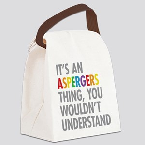 Aspergers Thing Canvas Lunch Bag
