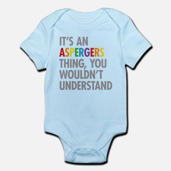 Aspergers Thing Body Suit