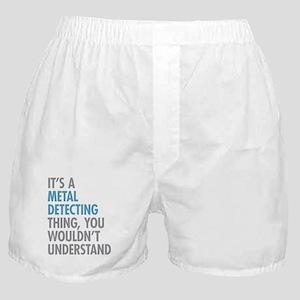 Metal Detecting Thing Boxer Shorts