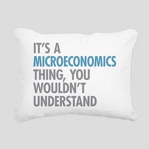 Microeconomics Thing Rectangular Canvas Pillow
