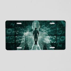 Embracing New Tech Aluminum License Plate