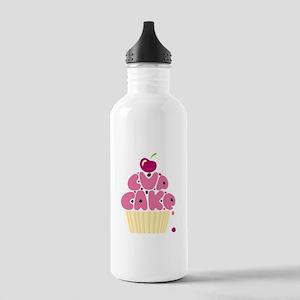 Cupcake Water Bottle