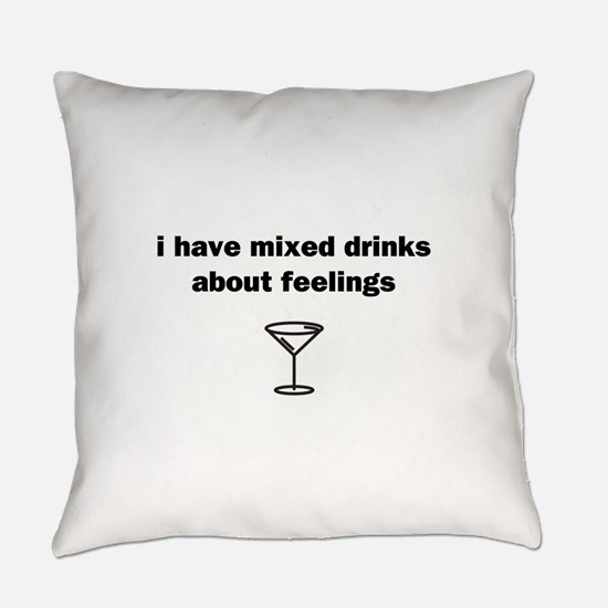 Mixed Drinks Everyday Pillow