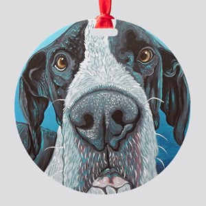 Great Dane Round Ornament